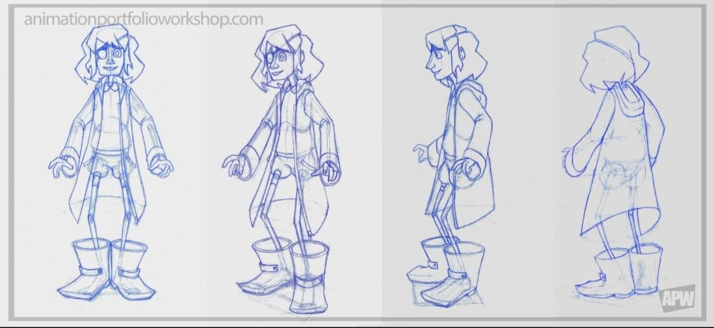 Animation Portfolio Workshop Character Rotations 5