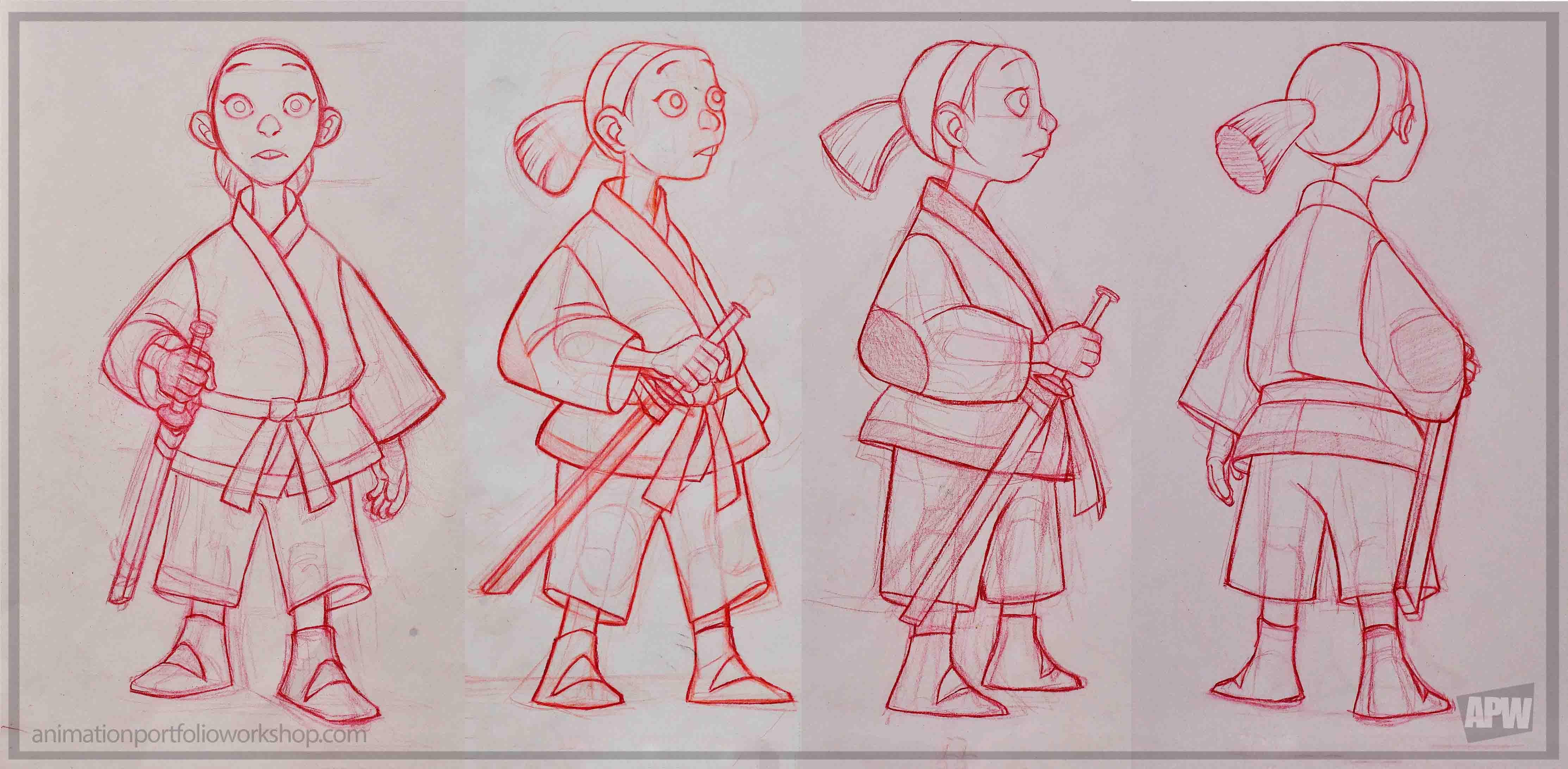 Character design by alisen montoya